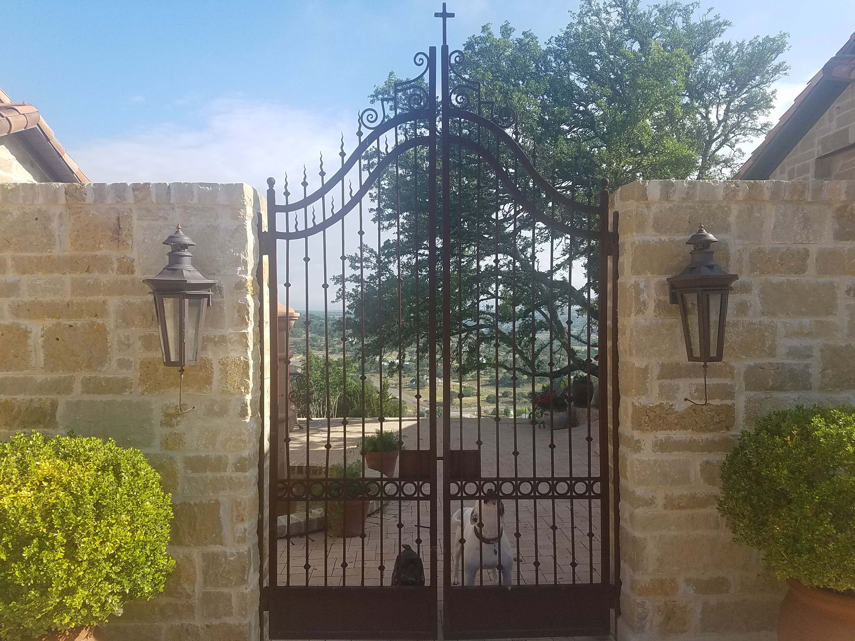 Auto Precision Gates in Texas Hill Country, Comfort TX